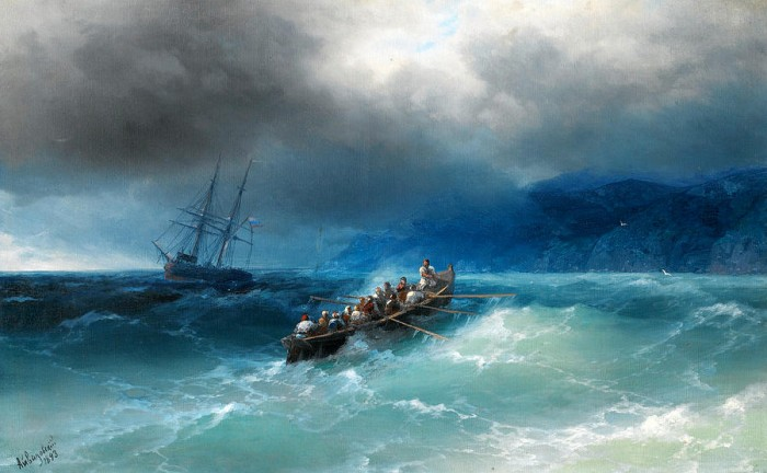 storm-over-the-black-sea-ivan-aivazovsky