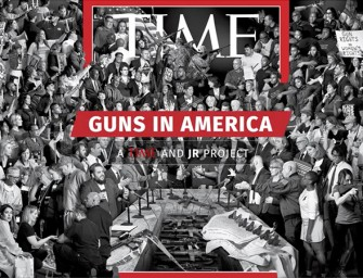 Guns in America by JR (behind the project)