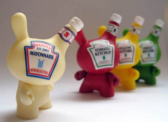 Dunny inspired by Heinz